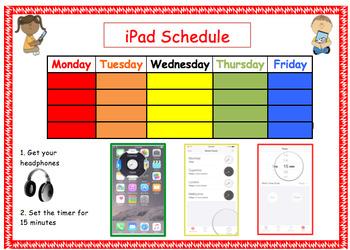 iPad Center Schedule