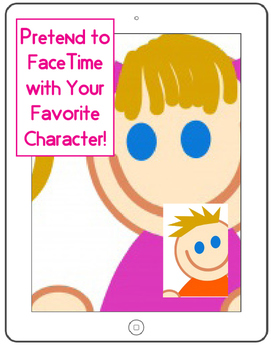 iPad Character FaceTime Worksheet