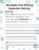 iPad Christmas Tree Writing Activity