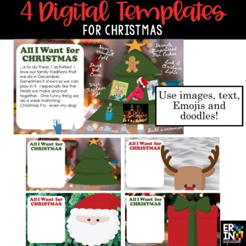 iPad Christmas Wishlist Activity