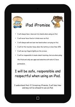 iPad Class Rules