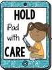 iPad Class Rules Posters