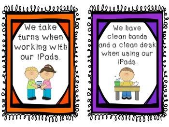 iPad Classroom Rules