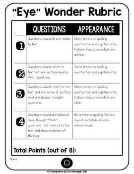 iPad Reading Activity - Asking Questions