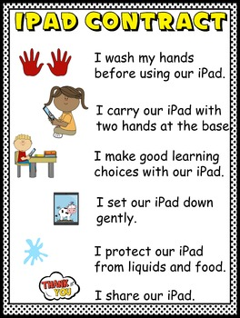 iPad Contract for Students