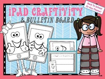 iPad Craftivity Craft and Bulletin Board