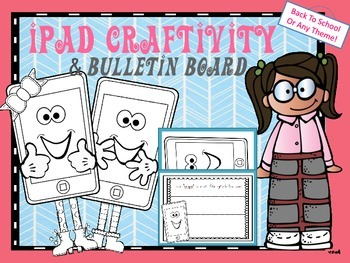 iPad Craftivity Craft and Bulletin Board