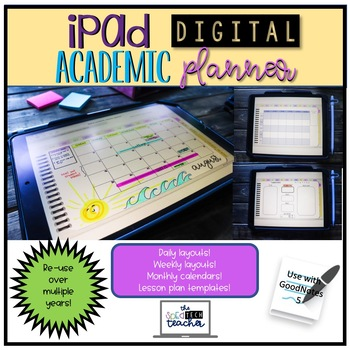 iPad Digital Academic Planner