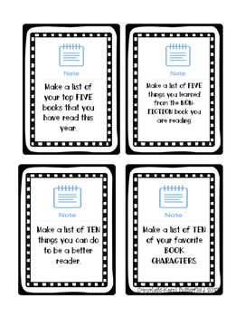 iPad ELA Task Cards for the SeeSaw App (NO PREP)