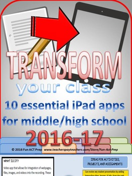 10 Essential FREE iPad Apps to Transform Any Middle/Second