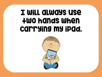 iPad Expectations/Rules