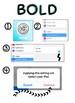 iPad Font & Bold Directions
