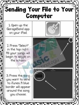 iPad GarageBand Tutorial #5- Sending Your File to GarageBand on Your Computer