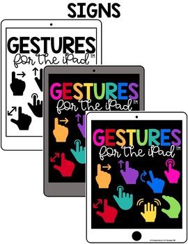 iPad Gestures Posters