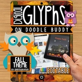iPad Glyph Activity: Fall Halloween Theme