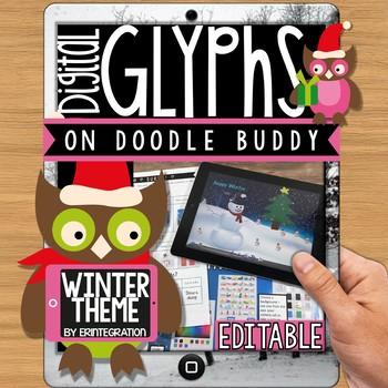 iPad Glyph Activity: Winter Theme