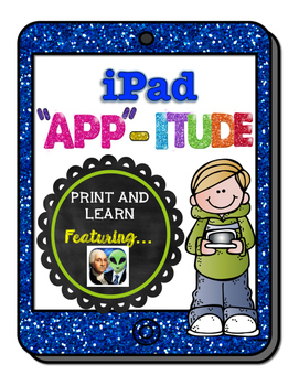 iPad Graphic Organizers for Presidents Vs. Alien App (NO PREP)