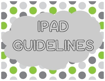 iPad Guidelines