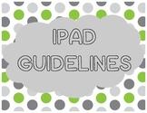 iPad Guidelines