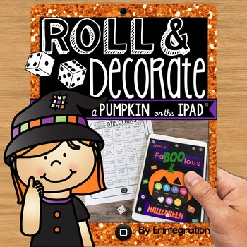 iPad Halloween Activity