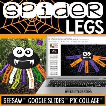 iPad Halloween Word Study Task Cards