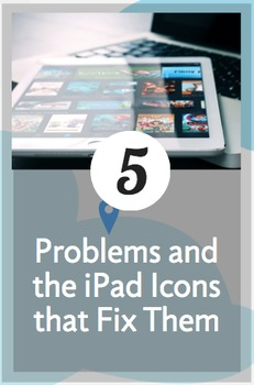 iPad Icons that Students Need to Know