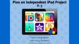 iPad Individual Project Planning