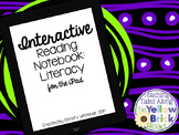 iPad Interactive Notebook Literacy CCSS Aligned