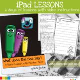 iPad Lessons-What Does The Box Say?
