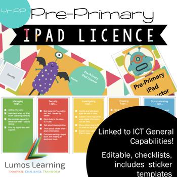 iPad Licence - PrePrimary
