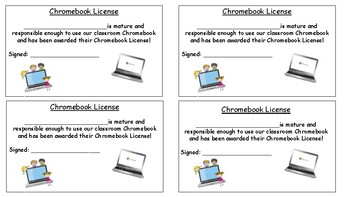 iPad/Chromebook License