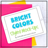 iPad Mock-ups   Bright Color Styled Images for Pins   Land