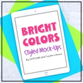 iPad Mock-ups   Bright Color Styled Images for Pins   Port