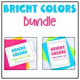 iPad Mock-ups Bundle   Bright Color Styled Images for Pins
