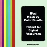 iPad Mock ups Color Bundle (Stock Photos)