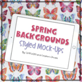 iPad Mock-ups   Spring Themed Styled Images
