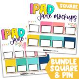 iPad Mockup for Digital Resources BUNDLE | June Edition {S
