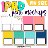 iPad Mockup for Digital Resources | June Edition {Pin Size}
