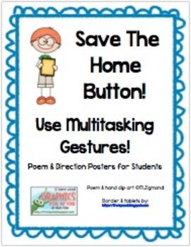 iPad Multitasking Gesture Poems