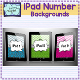 iPad Number Background Wallpaper (1 - 30)