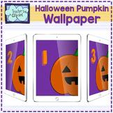 iPad Number Wallpaper (Halloween)