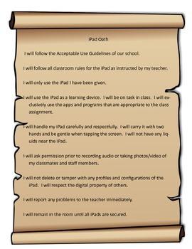 iPad Oath