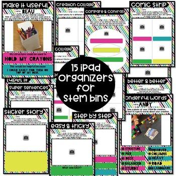Digital Organizers for STEM Bins™ (Pic Collage)