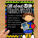 iPad All About Me Artifact Activity