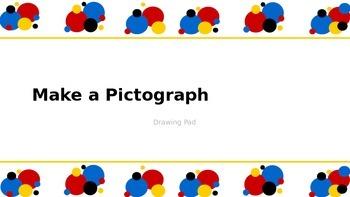 iPad Pictograph Math Activity