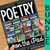 iPad Poetry BUNDLE - Acrostic, blackout, found, haiku, rhy