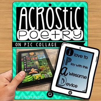 iPad Poetry - Acrostic Poems