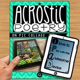 iPad Poetry - Acrostic Poems