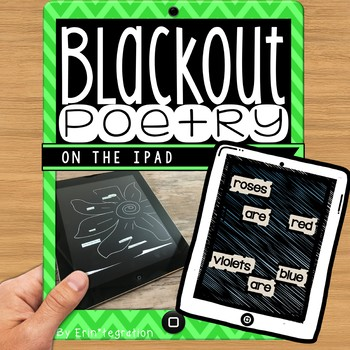 iPad Poetry - Create paperless blackout poems with a free app!