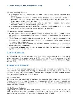 iPad Policy Handbook for Schools